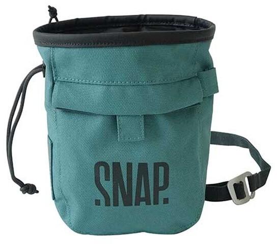 Chalk Pocket Snap Climbing Bolsa de magnesio Green